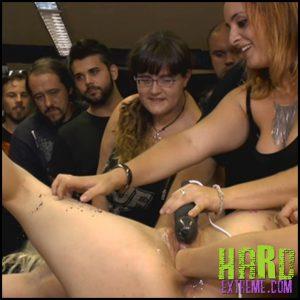 Release 06.07.2016 – Perky Blonde Liz Rainbow Gets Stuffed In Every Hole – HD, bdsm movie, bdsm slave sex, slave training