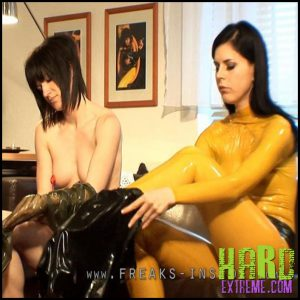 Release 14.08.2016 – Lisa And Seraphina – Lisa And Lady Seraphina Part Two. Freaksinside.com – HD, latex, Lisa, Rubber