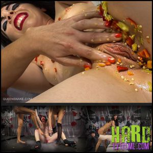 Release 10.08.2016 – Queensnake – PEPPERONI – Full HD-1080p, queensnake.com, Jade, Tanita, bondage, hot-pepper, chili, stuffing