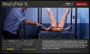 Release 19.08.2016 – Wheel of Pain 16 – Full HD-1080p, bdsm videos, bdsm slave