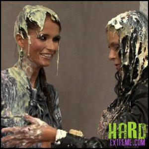 Release September 21, 2016 – Business Babes In Messy Brawl – Nessa Devil, Laetitia AllWam – HD, fetish, WAM, wet