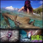 Release September 23, 2016 – Queensnake – Aqua – Full HD-1080p, underwater, stones, stuffing, insertion
