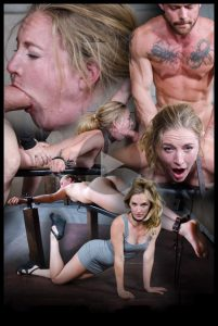 Release September 18, 2016 – Sexy Pale and Slim Mona Wales Gets Pounded By Two Cocks in Fighter Jet Position! – HD, bdsm