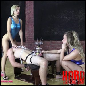 Release October 8, 2016 – Brat Princess 2 – Alexa, Harley – TENS Limit Tested while Facesat and Milked – Full HD-1080p, BONDAGE MALE