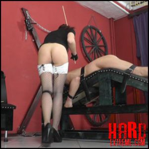 Release October 15, 2016 – Cruel Amazons – Mistress Anette – Vulnerable Parts – Full HD-1080p, bare bottom spanking, slave torture, punishment, cane, caning
