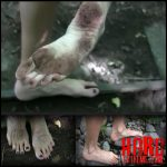 Release October 10, 2016 – Queensnake – Barefoot Trip – HD, foot-fetish, stones, outdoor, dirty