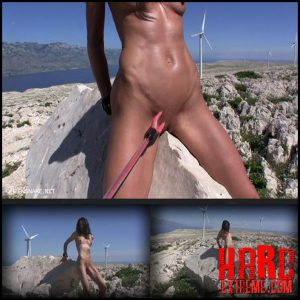 Release October 4, 2016 – Queensnake – Turbines – Full HD-1080p, stones, riding, stone-horse, cattle-prod, electro, maledom