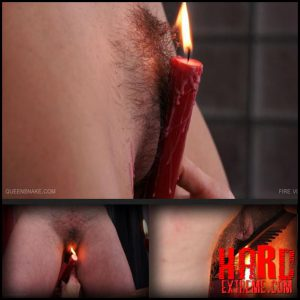 Release October 6, 2016 – Queensnake – Fire Vixens – Full HD-1080p, hairy, burning, candles, bondage, lezdom, squirt, pee