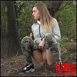 Release October 15, 2016 – Camo Pants – Full HD-1080p, got2pee, outdoor, pee, Peeing