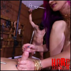 Release October 17, 2016 – Clubdom – Qandisa & Amadhy Dick Fucking – Full HD-1080p, ball abuse, ballbusting, cbt, humiliation