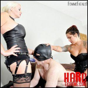Release October 17, 2016 – FemmeFataleFilms – Divine Mistress Heather, Lady Devin James – Slut Awakening Part 1– HD -720p, leather, spitting, strap
