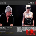 Release October 16, 2016 – ElitePain – Slave Auction – Full HD-1080p, cane, whips, strap, extreme