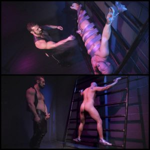 Release October 03, 2016 – Sex Club Owner Fucks and Torments an Obnoxious Party Goer – HD, gays bdsm, pain boys