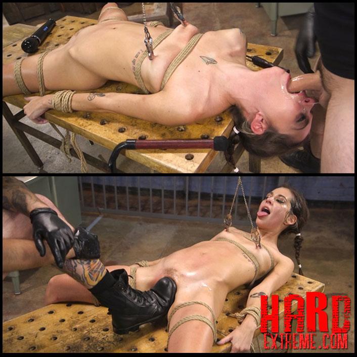 Kacie Castle Awesome Anal Training Hd Fetish Bondage Kinky