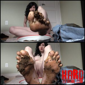 Eat my shit off my feet Foot fetish scat slave DirtyMaryan Scat – Full HD-1080p, Scatshop Scat, Smearing, Toilet Slavery (Release November 30, 2016)