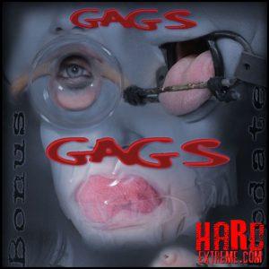 Gags, Gags, Gags – Violet Monroe – HD, bdsm videos, bdsm slave (Release November 16, 2016)