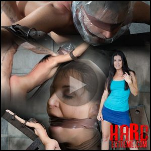 Hot MILF India Summer's is strapped to and 'X' frame, hooded, gagged, and brutally fucked! – HD, bdsm stories, bdsm porn sex (Release November 29, 2016)