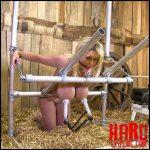 Katie – kneeling frame HuCows.com  – Full HD-1080p,  breast milk, milking machine (Release November 25, 2016)