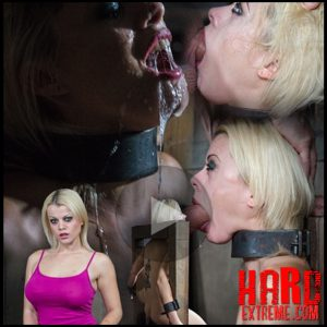 Nadia White is severely bound in metal, completely helpless on a sybian. Brutal throat boarding! – HD, Extreme, Fetish (Release November 17, 2016)
