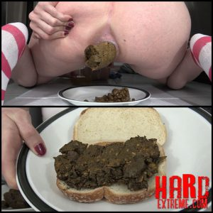 Making A Shit Sandwich For Your Lunch At Work DirtyMaryan Scat – Full HD-1080p, shit love, crazy scat (Release November 09, 2016)