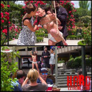 Rope Bondage Slut Loves to be Tied Up in Public – Full HD-1080p, Bondage, Kinky Porn (Release November 09, 2016)