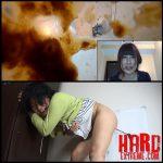 (BFJG-13) Self filmed enema excretion – Full HD-1080p, shit eating, Shitting (Release December 07, 2016)