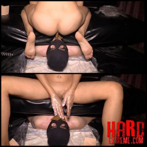 Mistress Diana takes a dump in her slave's mouth – Full HD-1080p, femdom scat, scat domination (Release December 07, 2016)