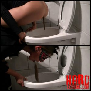 Suck shit puke – Full HD-1080p, toilet slavem solo scat (Release December 07, 2016)