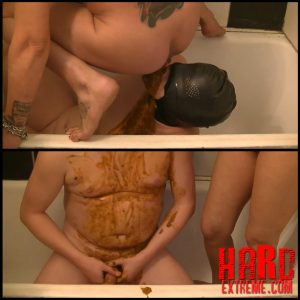 Toilet training with CBT and beating before feeding – Full HD-1080p, scat domination, depfile scat (Release December 14, 2016)