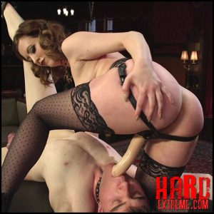 Cherry Torn's Tea Service and Slave Punishment – HD, kinky femdom, domination extreme (Release January 09, 2017)