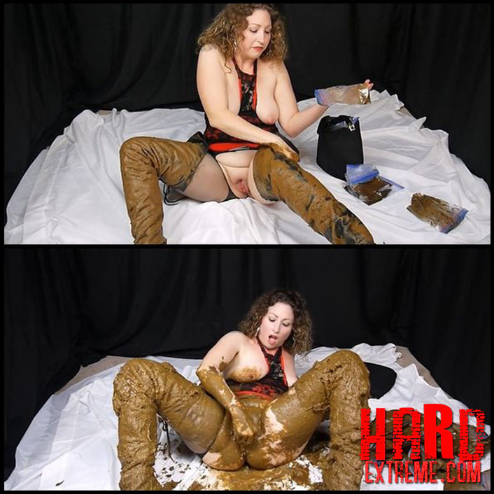 Scat Sexy Thigh High Leather Boots - Scat Goddess Amanda - Full HD-1080p, Goddess Amanda download, scat (Release January 31, 2017)