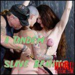 Tandem slave Beating – Abigail Dupree – Full HD-1080p, bdsm video, bondage, bdsm  (Release January 10, 2017)