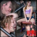 Zoey Laine BaRS Part 1: Stuck in a custom metal bondage piece, Zoey is faced fucked hard! – HD, depfile bdsm porn (Release January 24, 2017)
