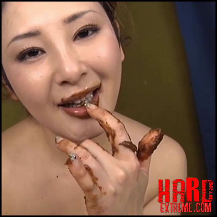 BRM-002 We Used Shit Instead Of Lotion To Get A Scat Loving Girl To Give An Anal Licking Handjob – ローションの代わりにうんこを使うスカトロマニア女のアナル舐め手コキ - Full HD-1080p