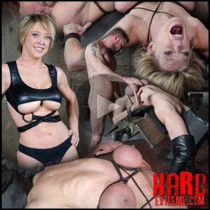 Dee Williams, our sexy resident Top, gets grabbed, severely bound, Brutally face fucked on a sybian – HD, extreme bdsm, insex (Release February 10, 2017)