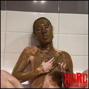 Extreme facial smearing – EllaGilbert (Ella Gilbert) – Full HD-1080p, depfile scat solo, Extreme Scat Hardcore (Release February 06, 2017)
