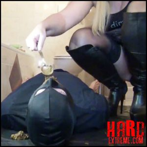 Perverse-FemDom session! Shit, Facesitting, spit and pee for slave! Part 3 – RosellaExtrem – Full HD-1080p, depfile femdom scat (Release February 02, 2017)