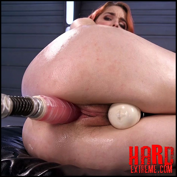 Spanish Red Head Machined Fucked Into Uncontrollable Orgasms! - HD, sex mashines, kinky porn (Release February 17, 2017)
