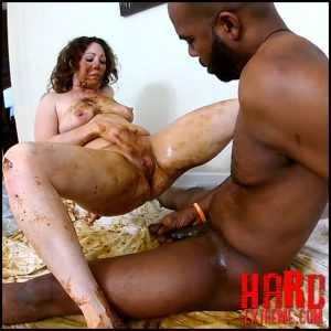 Woman shitting on black dick and masturbates dirty pussy – Goddes Amandha scat – Full HD-1080p, Pain Scat, Life Shit (Release February 22, 2017)