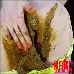 Anna Coprofield – Neon and Shitty – Full HD-1080p, pooping, Scat Couple, scat extreme porn (Release March 28, 2017)