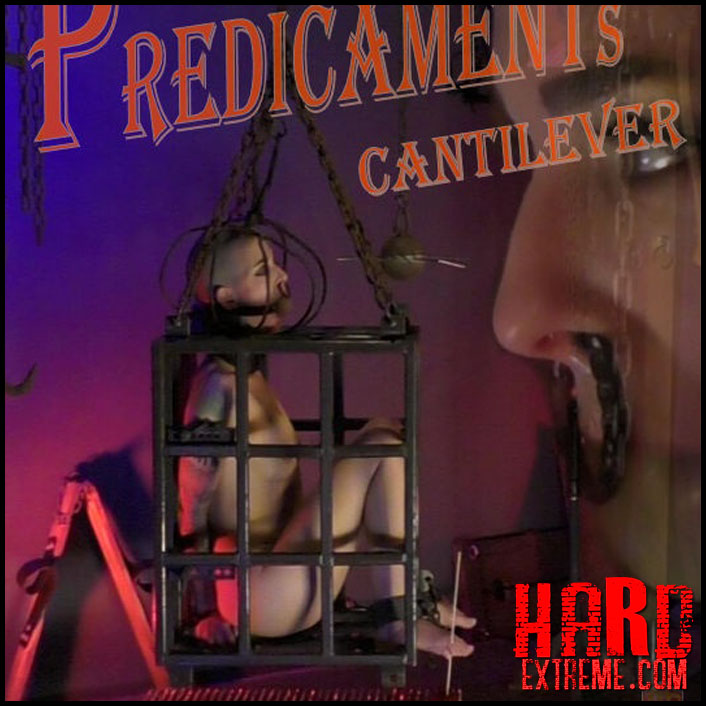 Caged Predicaments – Cantilever – Abigail Dupree - HD, bondage video, bdsm free video (Release March 21, 2017)