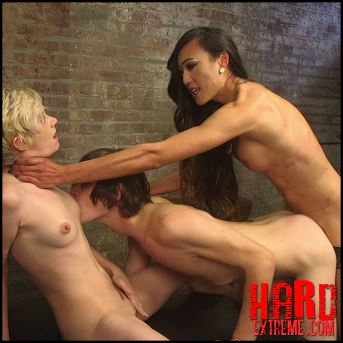 Cramming Anatomy 101 With Venus Lux - HD, extreme porn tranny, tranny domination (Release March 09, 2017)