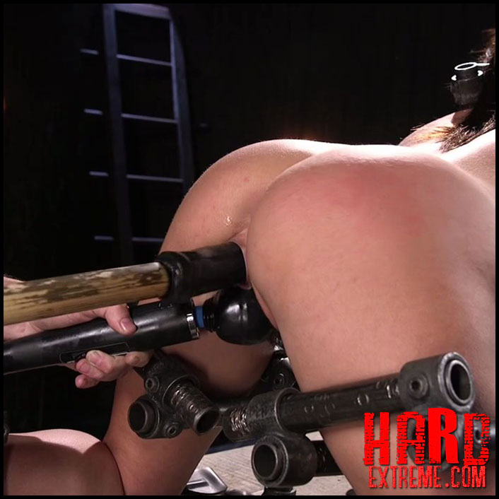 DeviceBondage - Big Tit Squirter Screams in Metal Bondage - HD, Kinky Porn, Male Domination (Release March 11, 2017)