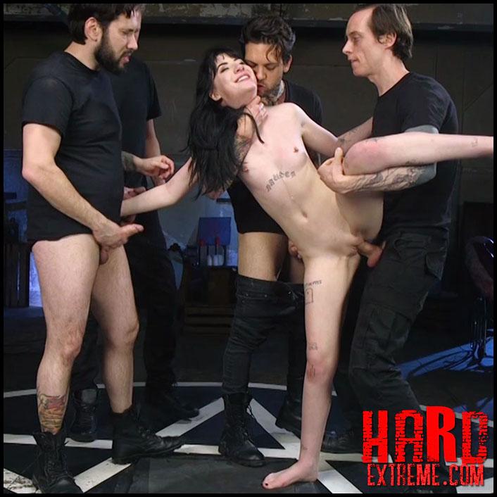HardcoreGangbang - Psycho Bitch Gangbang - HD, kinky porn, extreme porn (Release March 09, 2017)
