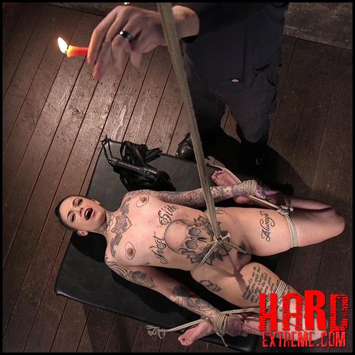 Hogtied - Tattooed Pain Slut Endures Brutal Bondage with Agonizing Torment - HD, Bondage, Kinky Porn (Release March 03, 2017)
