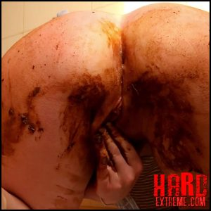 Linda's Ass – See my shitty ass and pussy play – Full HD-1080p, Shitting, eat shit, extreme, fetish (Release March 27, 2017)