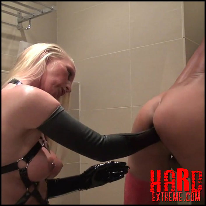 Radical Anal – Fisting Cunt burst open with LadyKacyKisha - Full HD-1080p, femdom fisting male, extreme fisting (Release March 28, 2017)