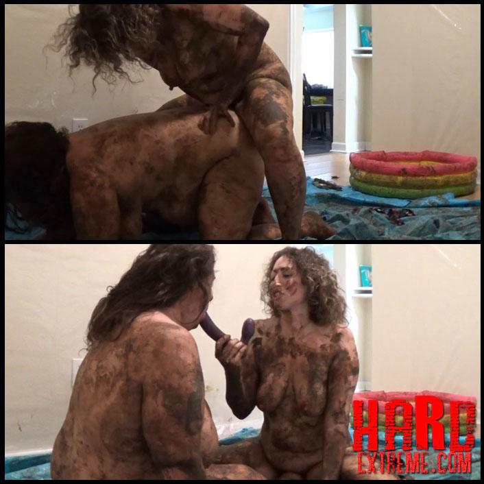 Scat Wrestling - SamanthaStarfish vs ScatGoddess scat - Full HD-1080p, Mystery Scat, Sex Scat (Release March 05, 2017)