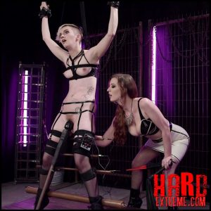 Electrosluts – Cherry Torn Trains New Lesbian Electro-Slave – Cherry Torn, Mercy West – HD, electro dildo, electro plug (Release April 24, 2017)