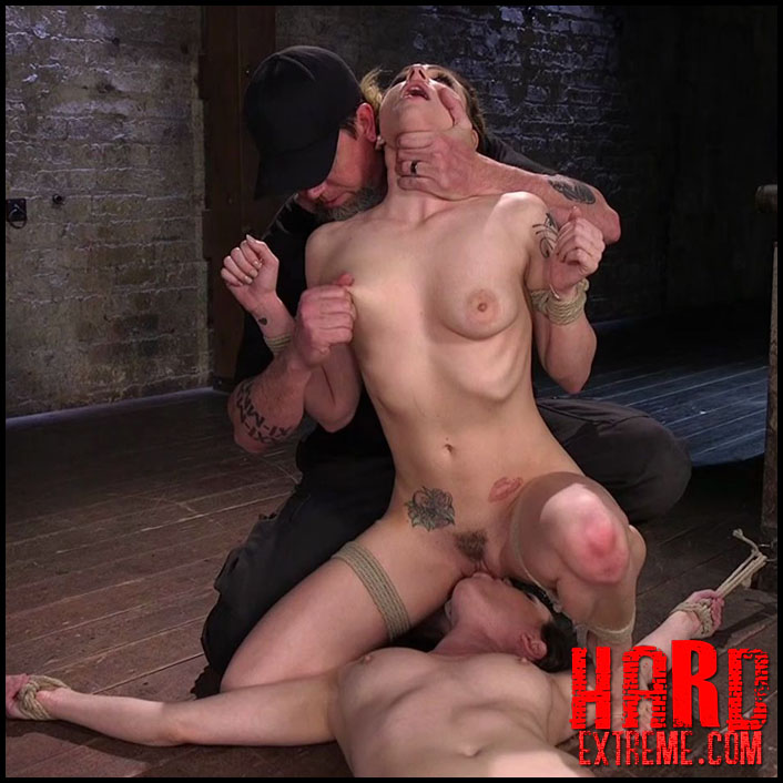 Hogtied - Casey and Dahlia Suffer Together in Brutal Bondage – Casey Calvert, Dahlia Sky - HD, Fingering, Humiliation (Release April 14, 2017)